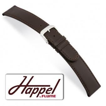 HAPPEL Louisville Leer Horlogeband