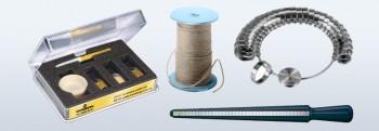 10 Goudsmidgereedschappen, klokkengereedschappen, componenten, solderen, speciale producten