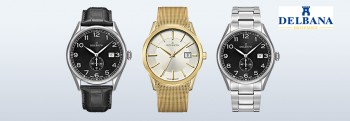 DELBANA Swiss made Horloges
