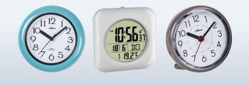Badezimmer-Uhren