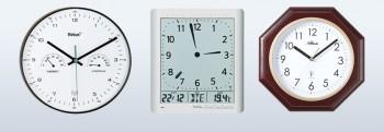Tijdsein gestuurde klokken