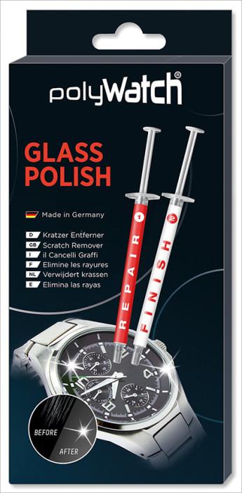 PolyWatch Glas Polish voor horlogeglazen, smartphones, auto's, meubelen enz.