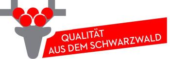 Kwarts Wekker Made in Germany, kast en wijzerplaat zwart
