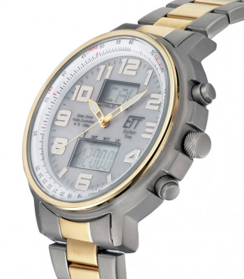 Eco Tech Time Solar Drive Hunter II Tijdsein horloge