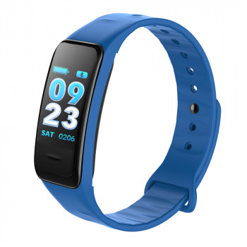 Fitness Tracker blauw met kleurendisplay
