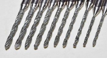 Diamant-beschichteter HSS-Mini-Spezialbohrersatz