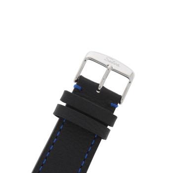 SELVA Herenpolshorloge »Ramon« - zon-/maanstand - blauw