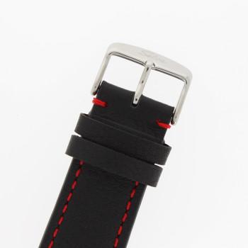 SELVA Polshorloge »Vasco« - zwart/rood