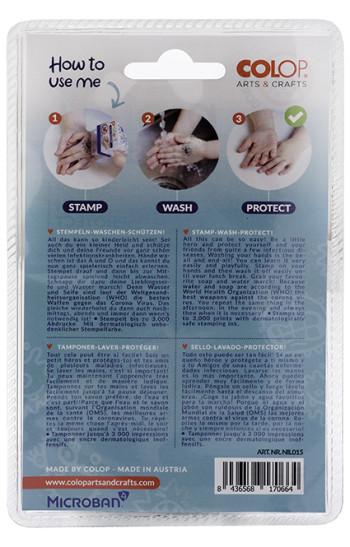 Bescherm stempel - stempelen - wassen - beschermen