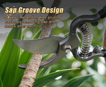 """Pruning shear 8"""" Carbon steel, 205mm"""