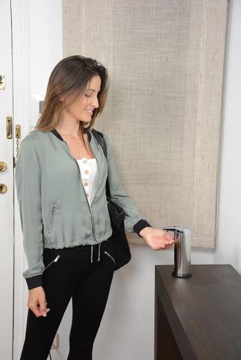 Infrarood zeep dispenser, ook geschikt voor desinfectiemiddelen