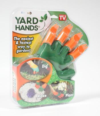 Gartenhandschuhe mit Krallen