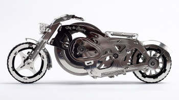 TIME FOR MACHINE – Bouwset Chrome Rider