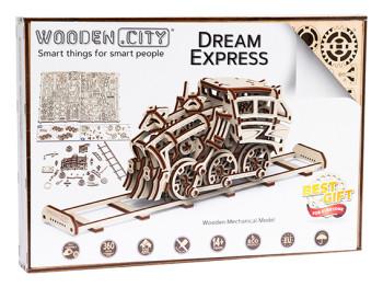 WOODEN CITY Dream Express & Rails, 273 onderdelen