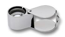 Stone magnifier Standard silver