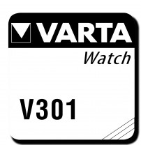301/386 1x Knopfzelle – Top-Qualität von Varta