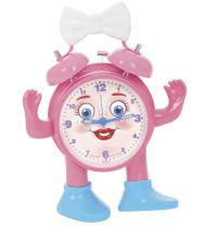 Miss Ticki kinderwekker Roze