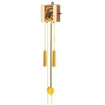 Kettinguurwerk Q SBS, 7-daags, houten slinger 72cm, gewicht met huls