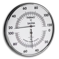 Sauna Thermo-/Hygrometer, Ø 132mm