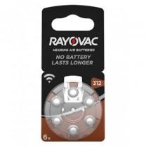 Rayovac 312  gehoorapparaat knoopcel