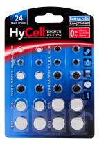 Lithium knoopcellen set