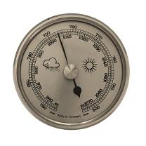 Barometer build-in weather instrument Ø 85mm, silver