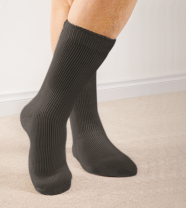 Warme sokken, maat 38-42, zwart, inhoud 2 paar