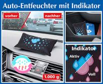 Auto ontvochtiger met indicator, voordeel set 2 stuks