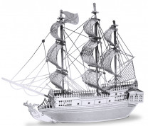 METAL EARTH 3D Bouwset Black Pearl Piratenschip