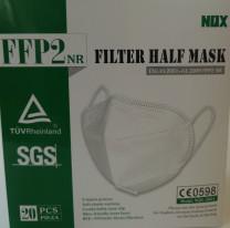 Schutzmaske nach DIN EN 149:2001 + A1.2009, CE-Kennzeichnung