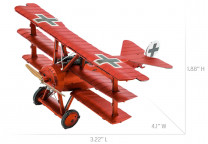 METAL EARTH 3D SET Rode Baron