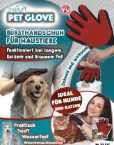 Pet Glove - De borstelhandschoen voor uw huisdier