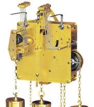 Uurwerk Hermle 451-030, 8-Daags, Slingerlengte 55 cm , slag op gong, Westminster