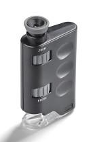 Taschenmikroskop mit 60x bis 100x Zoom