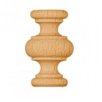 Gedraaide houten sierstukken