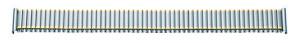 flex-metalen band edelstaal 18-20mm bicolor PVD, gepolijst/gematteerd met wissel aanzet