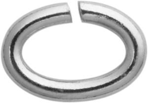 bindring ovaal edelstaal 7,00 x 5,00, dikte 1,10mm