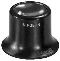 Watchmaker magnifier 6.7x, bi-convex lens Bergeon