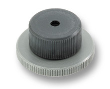 Plate, height-adjustable, dia. 20 mm