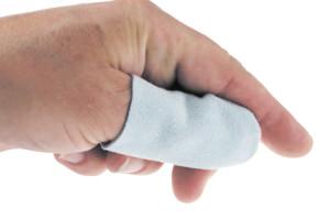 Fingerlinge aus Leder Größe 3