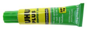 2-Componentenlijm Uhu-Plus Difinitief vast 300, tube
