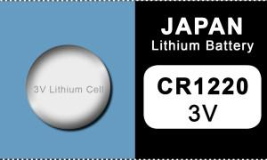 Japan 1220 lithium knoopcel