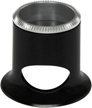 Horlogemakerloep zwart 2,5x Bikonvexe lens Bergeon Air