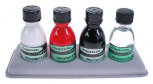 Hand varnish set incl. 3 colors and thinner