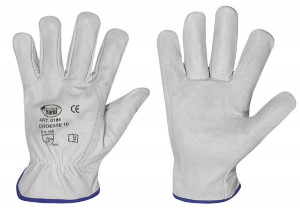 nappaleer-handschoenen Strong Hand SILVERSTONE, maat 8