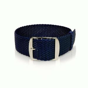 perlon band nacht-blauw, 20mm