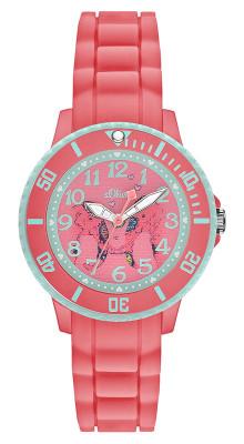 s.Oliver Silikonband rosa SO-2989-PQ