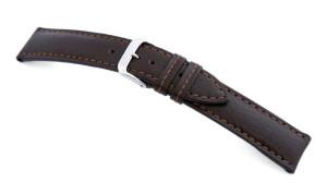 Lederband Pueblo 20mm mokka buffel leder
