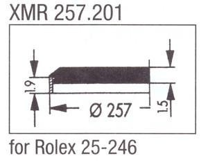 Glas XMR 257.201 mineraal