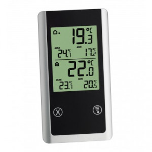 Radiogestuurde thermometer